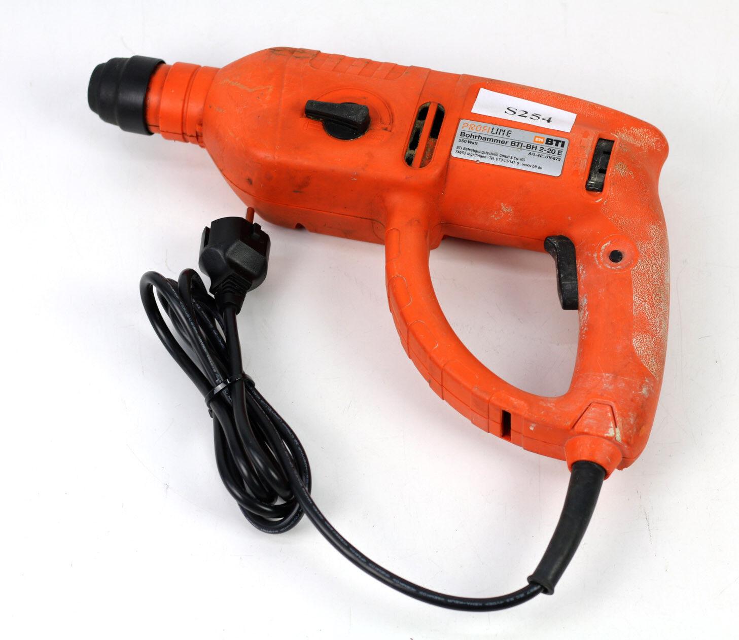 BTI Profiline Bohrhammer BTI-BH 2-20 E, Rechts / Linkslauf, pneumatic power