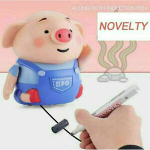 Educational-Creative-Toy-Pig-Follow-My-Path-Pen-Inductive-Toy-Children-kids-Gift