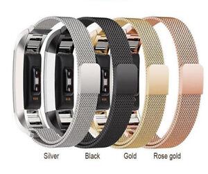 Metallo Fitbit Versa Ricambio Milanese Fascia Cinturino Sicura Braccialetto