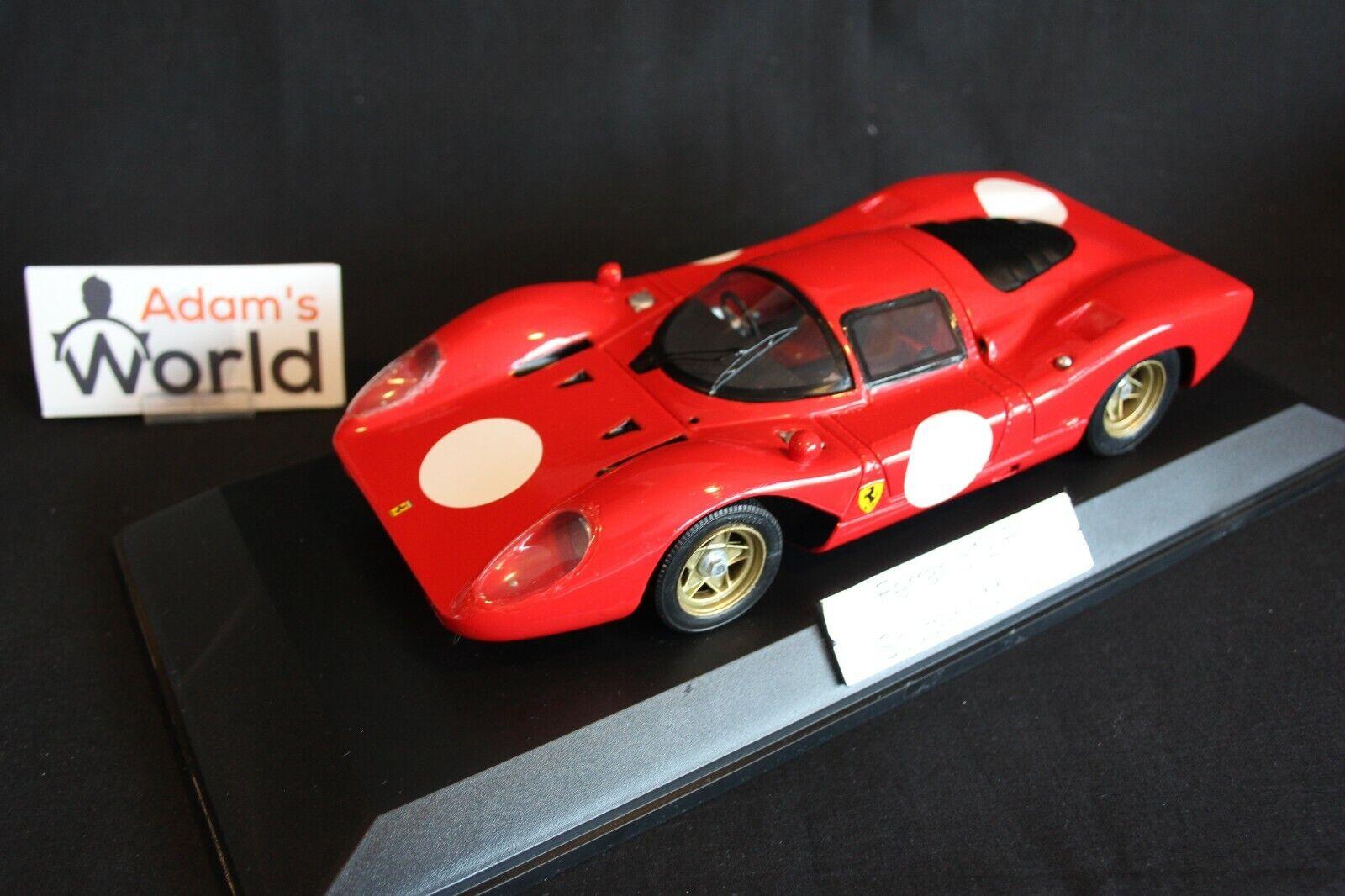 Scuderia Modeli Ferrari 312 P 1969 1 18 rot (PJBB)