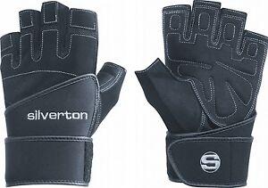 Silverton-Trainingshandschuh-034-Power-Plus-034-S-XXL-Krafttraining-Profi-Handschuh