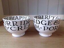 Emma Bridgewater Set of 4 Toast & Marmalade French Bowls