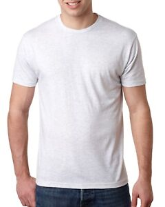 Next-Level-Mens-T-Shirt-Triblend-Crew-Short-Sleeves-6010-T-Shirt-XS-3XL-Tee