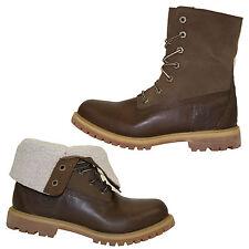 Timberland TEDDY ROLL TOP Boots Gr. 37 US 6 Damen Schnürschuhe Stiefeletten NEU