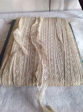 Antique Lace Vintage Off White Trim 5yd Ballet Dolls Furnishings Vintage Wedding