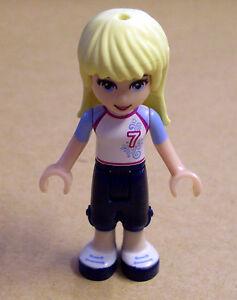 Stephanie Figuren Mädchen Neu Stefanie mit Hut Party Lego Friends Figur