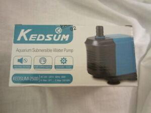 Pet Supplies 2500 Aquarium Submersible Water Pump Pleasant To The Palate Fish & Aquariums New In The Box Kedsum