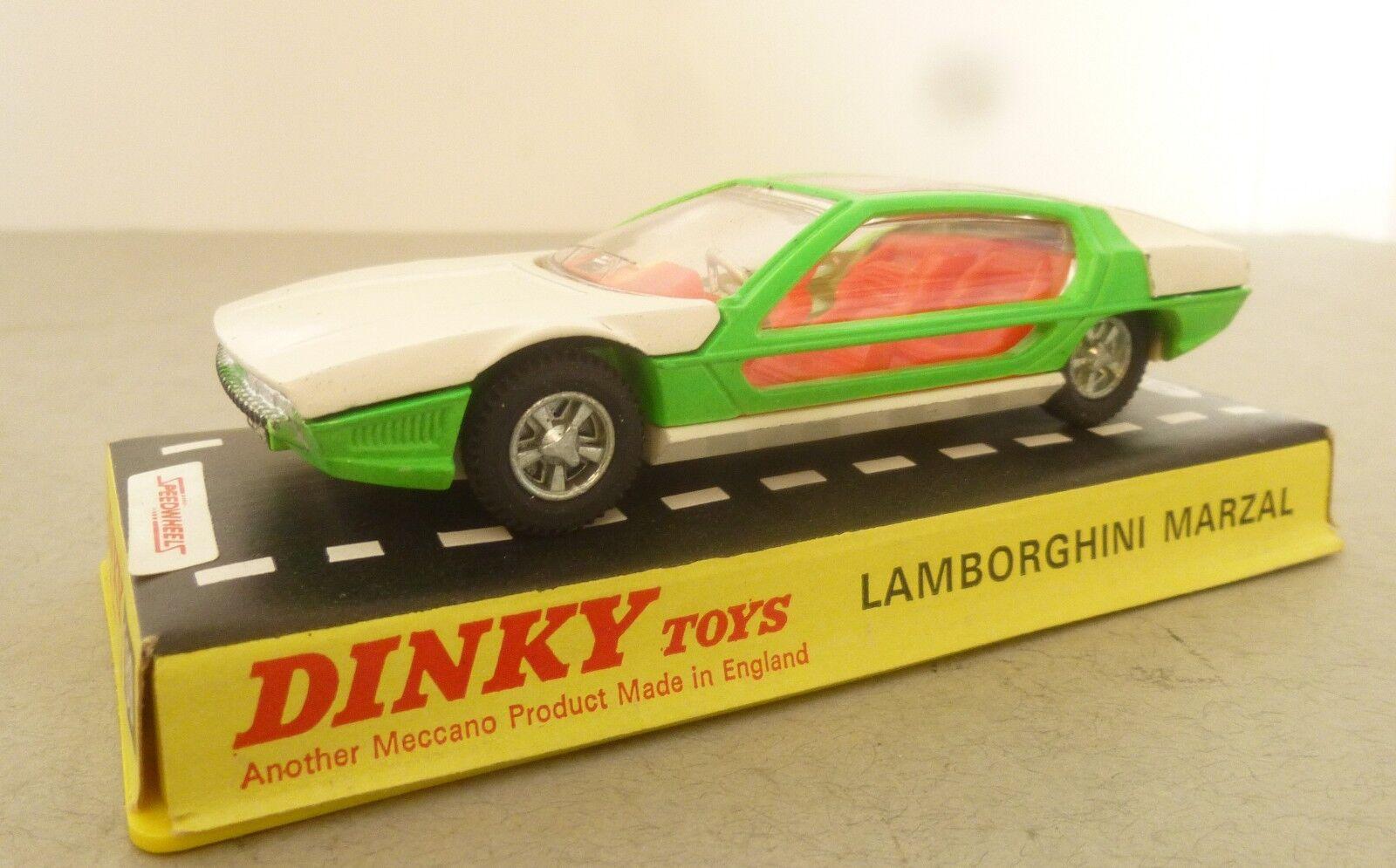 Dinky Toys Lamborghini Marzal Sports Car - 1970's Dinky Toys Sports Cars