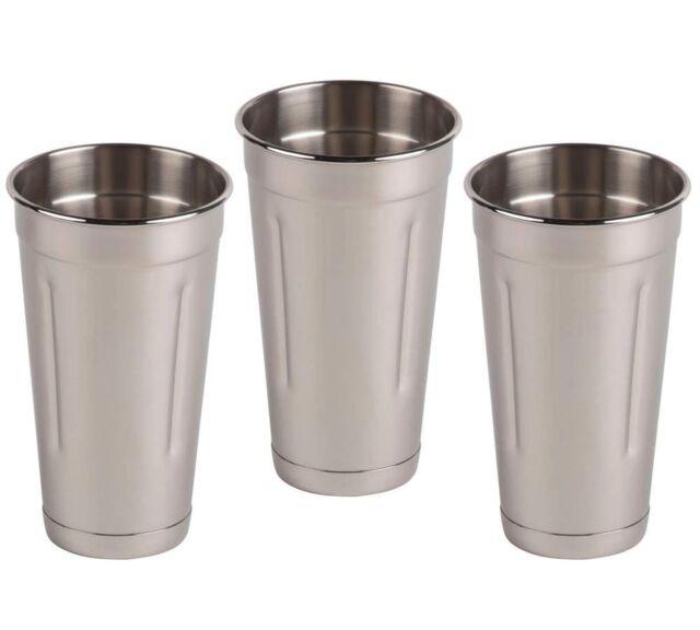 Cocktail Mixing Ounce Malt Cup 30 Oz SET OF 6 Milkshake Cup Blender Cup