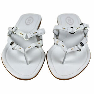 discount nicekicks Tod's Fiji Leather Sandals cheap good selling cheap Manchester high quality free shipping the cheapest RSKDFz