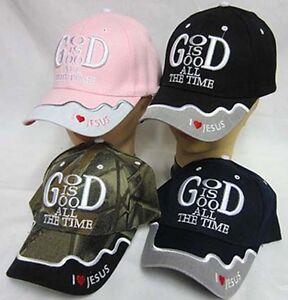 GOD-IS-GOOD-ALL-THE-TIME-Christian-Hat-Baseball-Cap-Show-Your-Faith