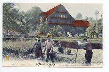 SUISSE SWITZERLAND canton NIEDWALDEN OBWALDEN Urschweizeris. Bauernhaus fenaison