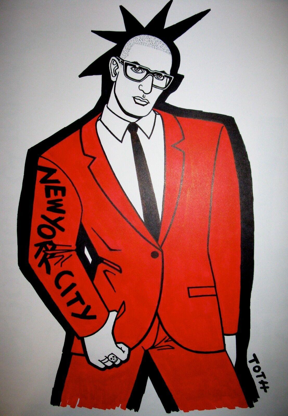 John Toth  XXX Christopher Street Gay Hustler t-s… - image 6
