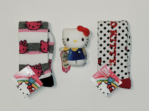 Itty Bittys Plush Details about  /CHOOSE PATTERN Lot NWT Hello Kitty Knee High Socks Size 9-11