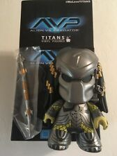 "4.5"" Titans Vinyl Figure Aliens Vs Predator Loot Crate Scar Masked PREDATOR w/bx"