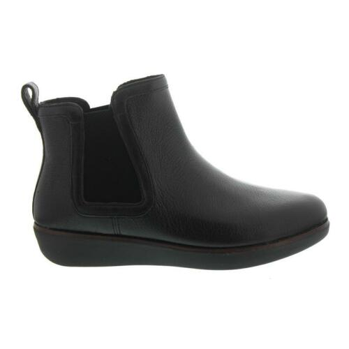 Fitflop Leather 001 N15 Chai Black Boots Chelsea wgqvwTC