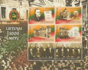 Lithuania 2007 Yvert Tellier - Hb No 35 1000 Anniv. Lithuania/Characters