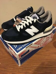new styles acd5f 3a1dc Details about New Balance 990 N Navy Size 8.5 Made In USA New