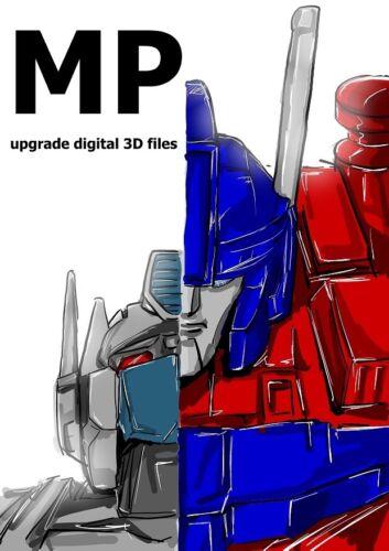 please read item description Masterpiece MP-10 upgrade kit 3D STL file