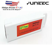 US 6500mAh 3S 11.1V 3C Replacement Flight LiPo Battery for Yuneec Q500 &Q500+