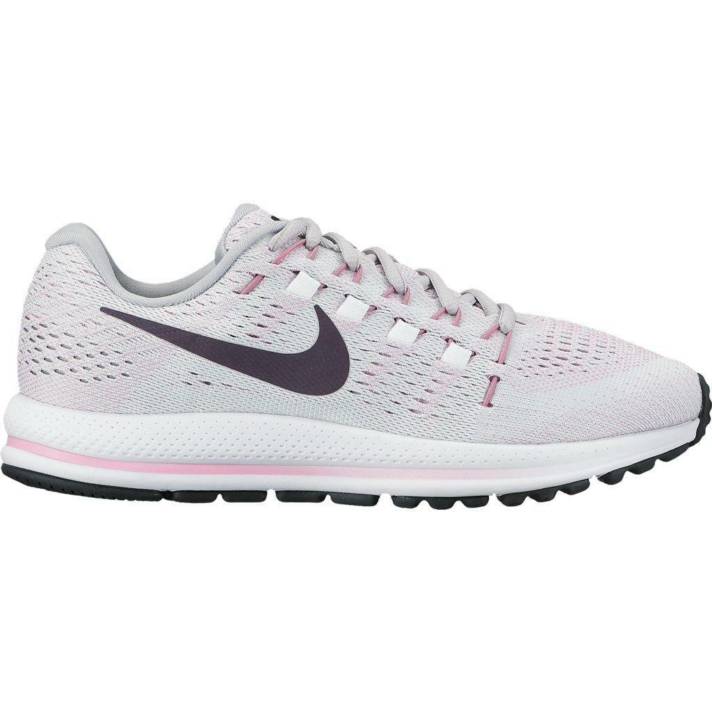 big sale 06d39 6d206 damen Nike Air Zoom Trainers Vomero 12 Pure Platinum Trainers Zoom 863766  003 02e51e