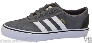 buy online 6aff1 dac60 Adidas ADI EASE Mid Cinder Running White Black 1 G98182 Skate (241)  Mens Shoes
