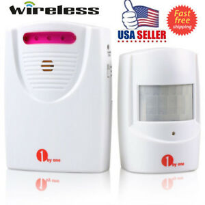 1Byone-Wireless-Alarm-Alert-System-Motion-Sensor-Home-Driveway-Security-Detector