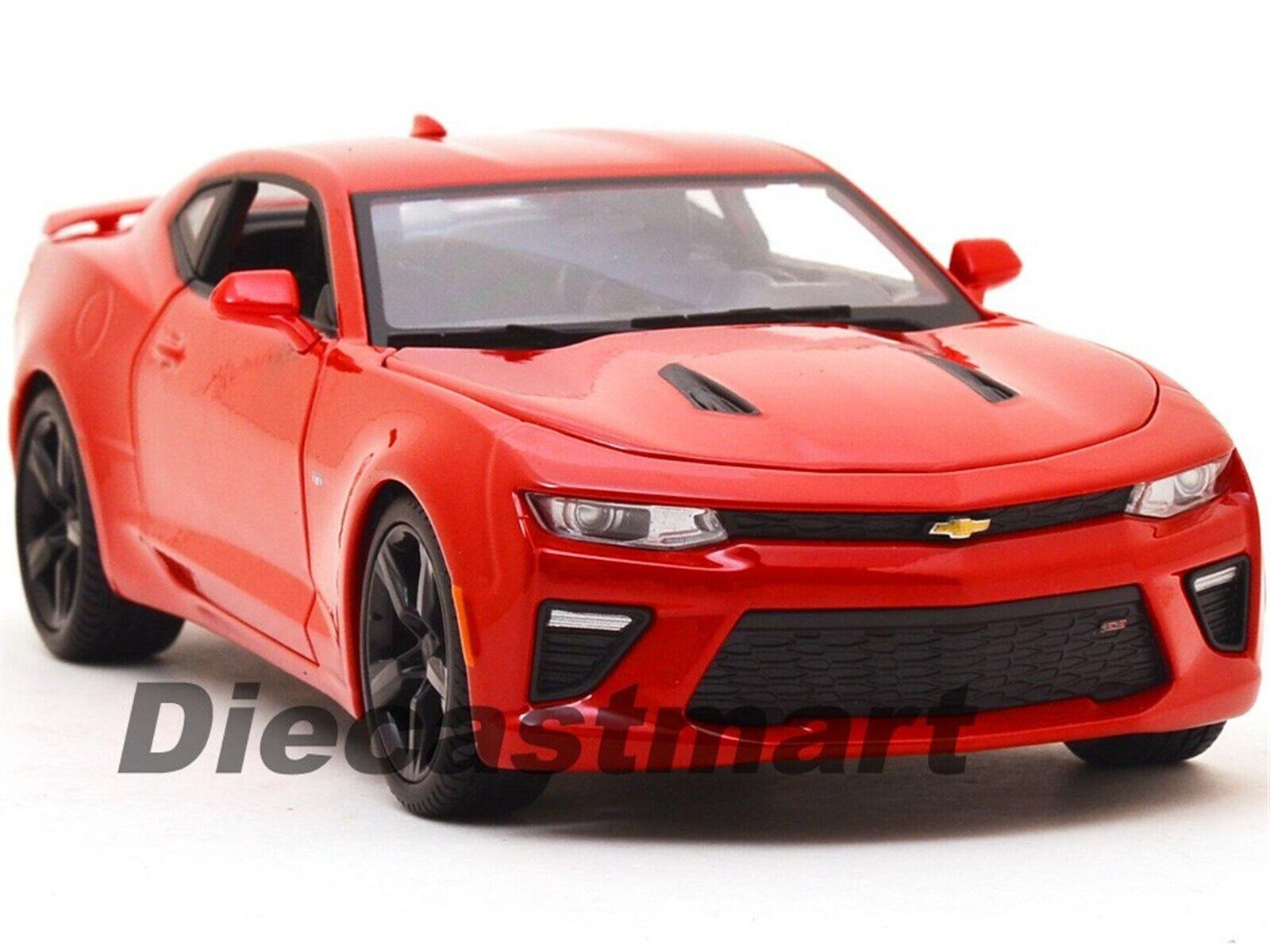 2016 CHEVROLET CAMARO SS RED DIECAST 1 18 MODEL CAR BY MAISTO 31689