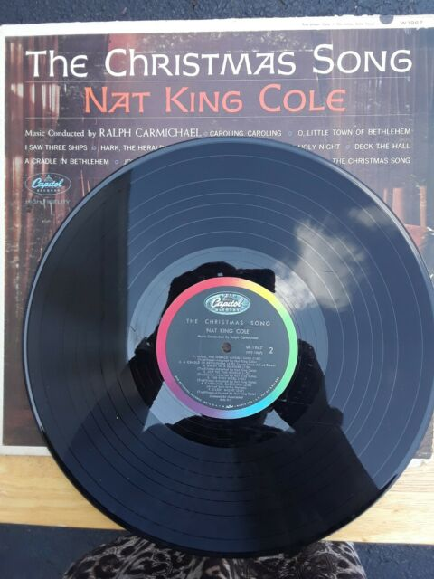 Nat King Cole The Christmas Song SW1967 LP Vinyl Capitol Records 1968 Jazz Pop   eBay