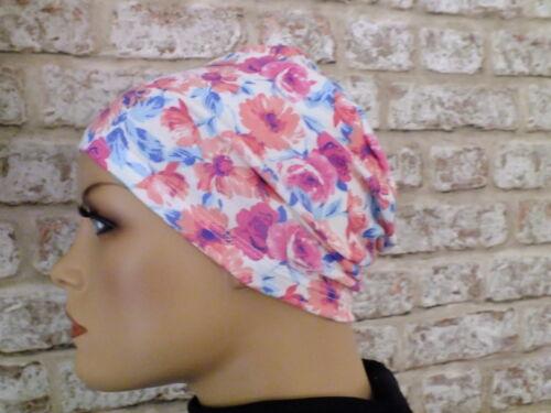 Leukemia Chemo Jersey Hat Headwear for hair loss Cancer sleep or lounge hat