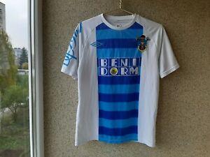 Benidorm CF Home football shirt 2010/2011 Jersey M Umbro Soccer Spain Camiseta