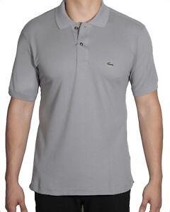 60b950accfb455 Lacoste Men s Short Sleeve Classic Cotton Pique Polo Shirt L1212-51 ...