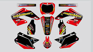 Details about PRO CIRCUIT HONDA CR 125-250 2000-2001 DECAL STICKER GRAPHIC  KIT