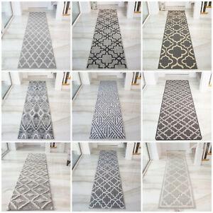 Grey Runner Rugs Modern Carpet