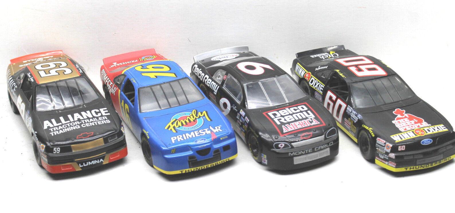 4 Ertl+Racing Champions 1 24 Die Cast Cars Bessey+Musgrave+Setzer+