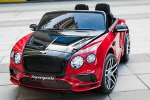 Details about Kids Official Licensed Bentley Continental Supersports 12V Electric Ride On Car