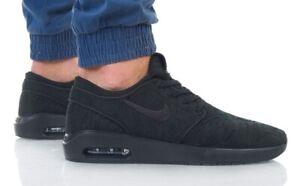 Details about Nike SB Air Max Janoski 2 Triple Black AQ7477-004 Running Shoes Men's Multi Size