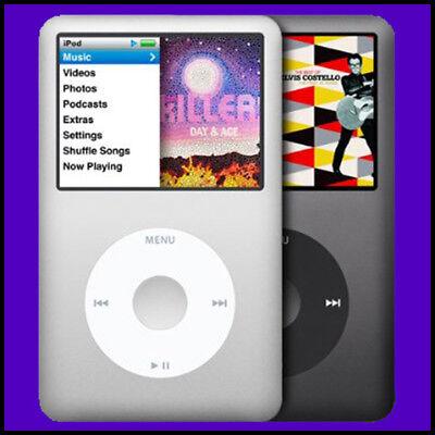 Apple iPod Classic 5th 30GB, 60GB, 80GB, 120GB, 160GB 6th or 7th Generation