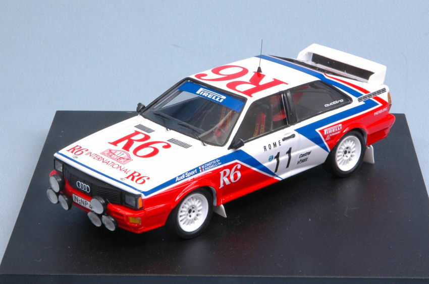 Audi Quattro R6 Accident Montecarlo 1982 M. Cinotto   E. Radaelli 1 43 Model