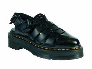 Oriana On Martens Doc 21887001 Slip Original Black Sandale Dr pwva4q