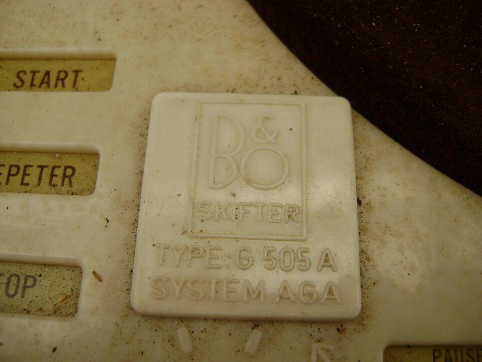 Pladespiller, Bang & Olufsen, G 505 A