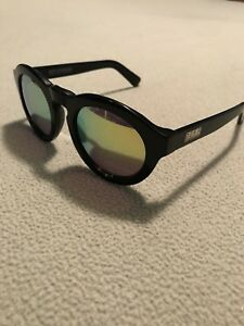 a42f5a49e3 Image is loading Diff-Eyewear-Dime-II-Black-Gold-Polarized-Sunglasses