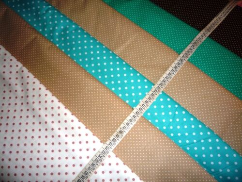De coton petits points 100/% Coton à Partir De 50 cm Dotts behelfs Masques U