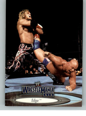 WWE WRESTLE MANIA XIX Carte 90 Basic Set par Fleer 2003