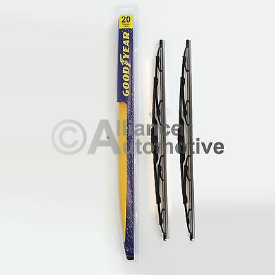 2 Goodyear Windshield Wiper Blades Made in the USA Size 21""