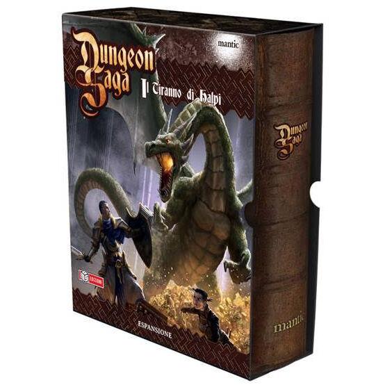 Dungeon Saga, Il Tiranno di Halpi, Espansione n  4, Nuova, Italiano MANTIC
