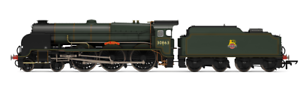 Hornby R3635 Lord Nelson Class 4-6-0 BR No  30863 Lord Rodney OO Gauge