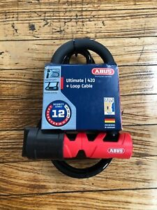 Abus Ultimate 420 D-Lock and Cable Bike Lock