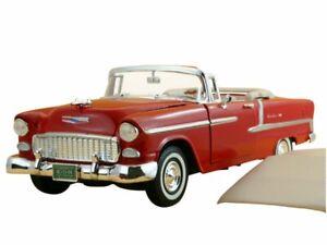 CHEVROLET Bel Air - 1955 - red - MotorMax 1:18