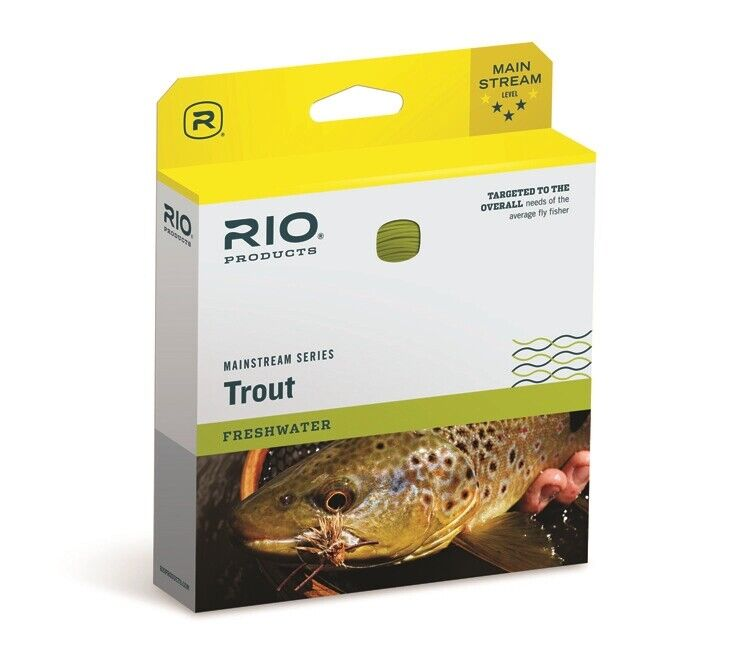 Rio Mainstream Trout Intermediate Fly Line - WF5I  - New  - FREE SHIPPING   wholesale